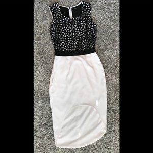 ASOS asymmetrical hem Cocktail Dress size 4